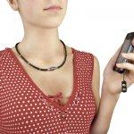 Набор (колье, часы, релок для мобильного телефона)
